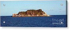 Island Lighthouse Australia Acrylic Print by John Potts