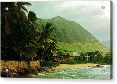 Island Living Acrylic Print