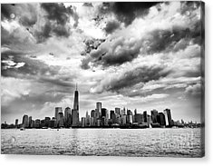 Island Of Manhattan 2013 Acrylic Print by John Rizzuto
