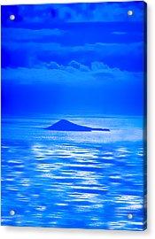Island Of Yesterday Wide Crop Acrylic Print by Christi Kraft