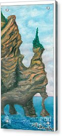 Island Right Acrylic Print