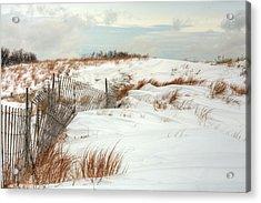 Island Snow Acrylic Print