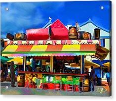 Island Stand Acrylic Print by Gerry Robins