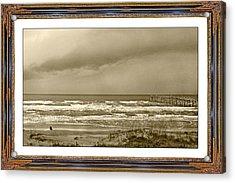 Island Storm Acrylic Print