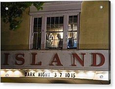 Island Theater Acrylic Print