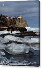 Acrylic Print featuring the photograph Island View by Gregory Israelson