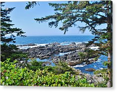 Island View Acrylic Print by William Wyckoff