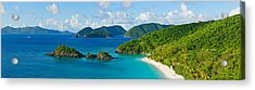 Islands In The Sea, Trunk Bay, St Acrylic Print