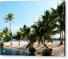 Acrylic Print featuring the photograph Isle @ Camana Bay by Amar Sheow
