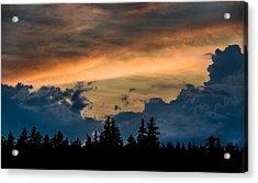 Isle Au Haut Sunset Acrylic Print