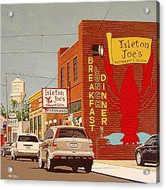 Isleton Joe's Acrylic Print by Paul Guyer