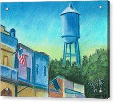 Isleton Old Town Acrylic Print