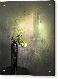 Isn't It Romantic Acrylic Print by Theresa Tahara