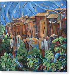Isola Di Piante Large Italy Acrylic Print