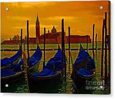 Isola Di San Giorgio Maggiore In Venice Acrylic Print