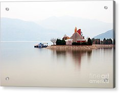 Isolated Acrylic Print by Ciprian Kis