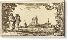 Israël Silvestre French, 1621 - 1691, Plan General Du Acrylic Print by Quint Lox