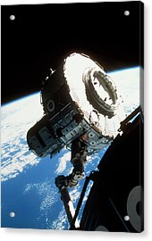 Iss Quest Airlock Acrylic Print
