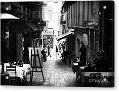 Istanbul Freeze Frame Acrylic Print by John Rizzuto