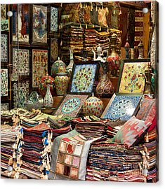 Istanbul Grand Bazaar 07 Acrylic Print by Rick Piper Photography
