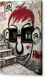 Istanbul Les Acrylic Print by John Rizzuto