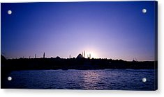 Istanbul Nightfall Acrylic Print by Shaun Higson
