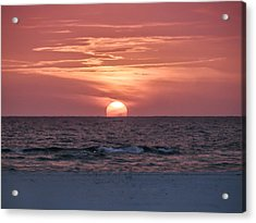 It Doesn't Get Any Better Than This Acrylic Print by Bill Cannon