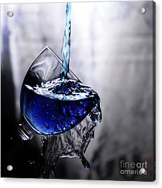 It Is Blue Acrylic Print