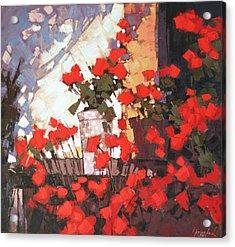 It Is Noon Acrylic Print by Anastasija Kraineva
