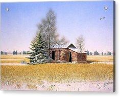 It Is Sunday Acrylic Print by Conrad Mieschke