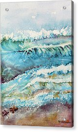 It Makes A Difference To One Little Starfish Acrylic Print