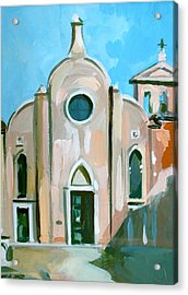Italian Church Acrylic Print by Filip Mihail