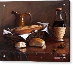 Italian Cuisine Acrylic Print
