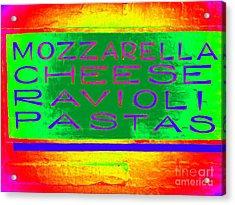 Italian Feast Acrylic Print by Ed Weidman