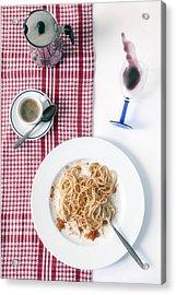 Italian Food Acrylic Print