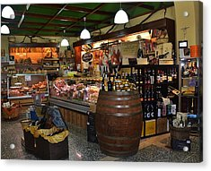 Italian Grocery Acrylic Print by Dany Lison