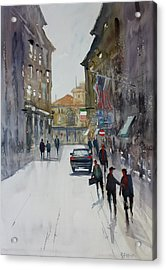Italian Impressions 1 Acrylic Print by Ryan Radke
