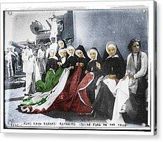 Italian Nuns Acrylic Print by Tony Rubino