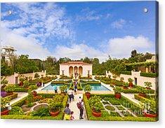 Italian Renaissance Garden Hamilton Gardens New Zealand Acrylic Print by Colin and Linda McKie
