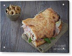 Italian Sandwich Acrylic Print by Sabino Parente