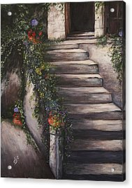 Italian Steps Acrylic Print