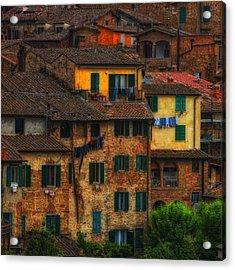 Italian Village View Acrylic Print