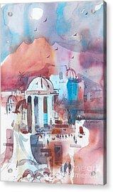 Italiana Acrylic Print by Micheal Jones
