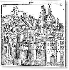 Italy - Padua 1493 Acrylic Print by Granger