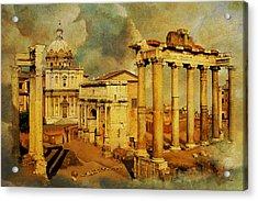 Italy 05 Acrylic Print by Catf