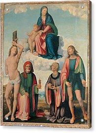Italy, Emilia Romagna, Ravenna, Bagnara Acrylic Print by Everett