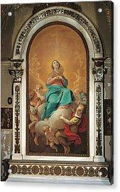 Italy, Lombardy, Milan, San Gottardo Acrylic Print by Everett
