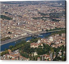 Italy, Piedmont, Turin, View Of The Acrylic Print by Tips Images