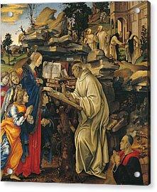 Italy, Tuscany, Florence, Badia Church Acrylic Print by Everett