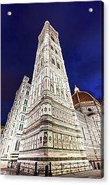 Italy, Tuscany, Florence, Low-angle Acrylic Print by Henryk Sadura/tetra Images